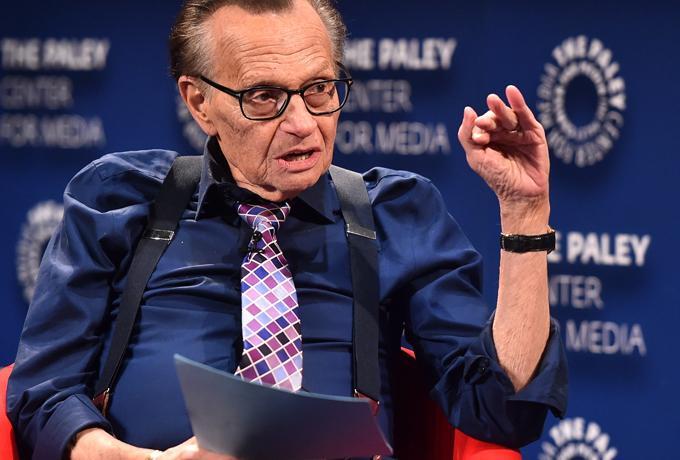 Larry King Wafat di Usia 87 Tahun