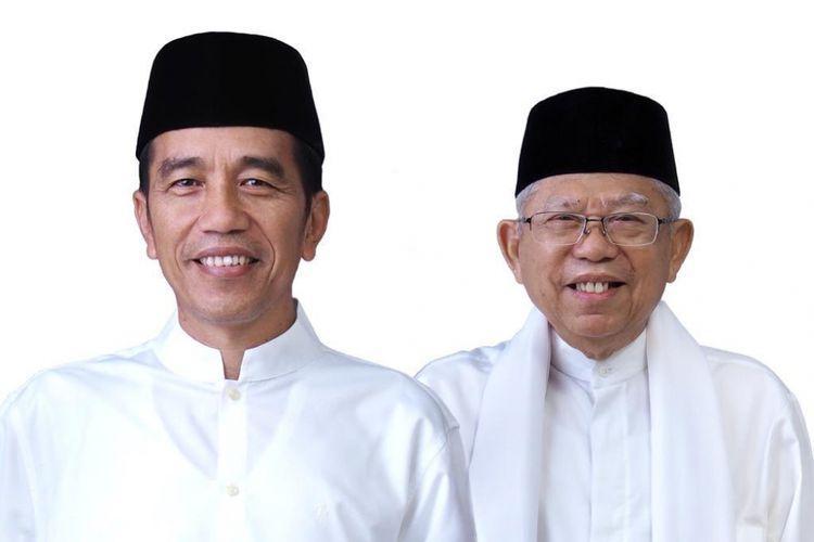 Tim Kampanye Nasional (TKN) Jokowi Ma'ruf, Ajak Pendukung Gaungkan Tagline Putih Adalah Kita.