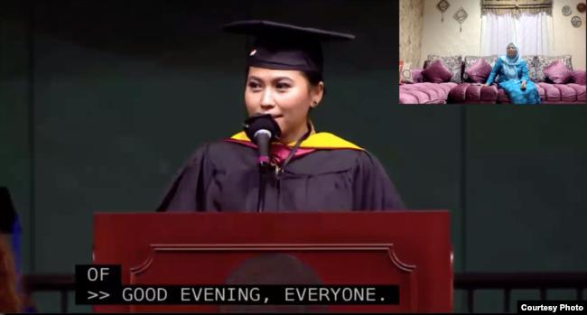 Ini Sosok Perempuan Asal Binjai Lulusan Terbaik di Universitas Northeastern di Boston