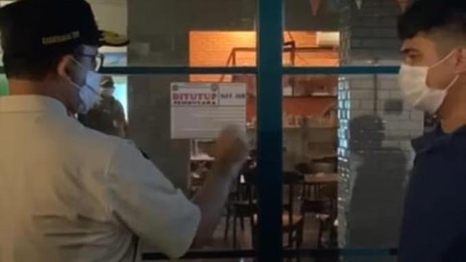 Anies Pergoki Sendiri Pelanggaran Prokes di Kafe Wilayah Jaksel