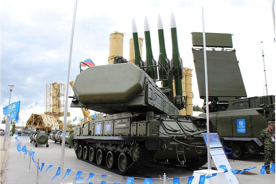 Buk-M2E Buatan Rusia Jatuhkan Seluruh Rudal Israel di Homs Suriah