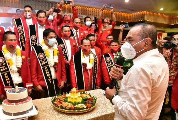HUT Pemuda Batak, Gubernur Sumut: Jangan Nanggung, Jangan Receh!