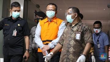 Edhy Prabowo Minta Maaf ke Jokowi dan Nelayan