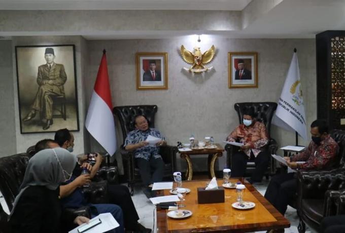 Pilkada Bermartabat: Banyak Temuan di Daerah, Ketua DPD Rapat dengan DKPP