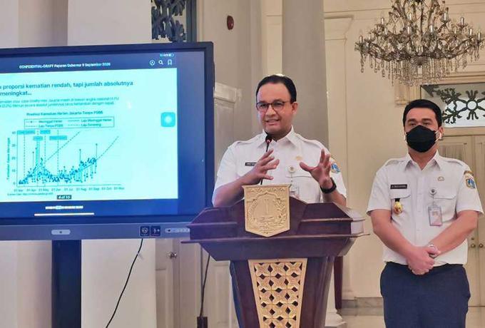 Anies Baswedan: Penyebaran Covid-19 di DKI Menuju Kategori Aman