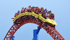 Alamak! Penikmat Roller Coaster Terjebak di Ketinggian Berjam-jam