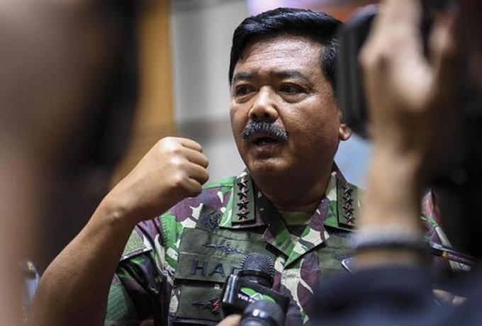 Panglima TNI Wanti-wanti Ancaman Separatisme via Medsos