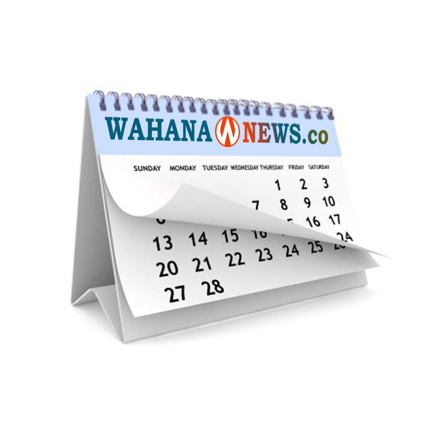 Kalender Official Wahana News